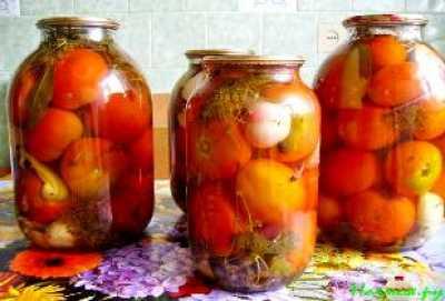 Рецепты приготовления маринованных томатов
