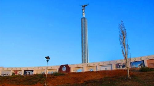 Обновленный мемориальный комплекс на площади Славы